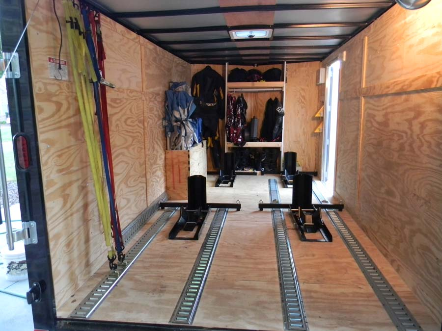 Enclosed Trailer Setups Page 22 Trucks Trailers Rv S